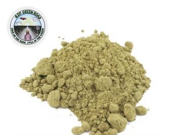 Haschich CBD Pollen Powder Hash CBD 10% 420 Green Road