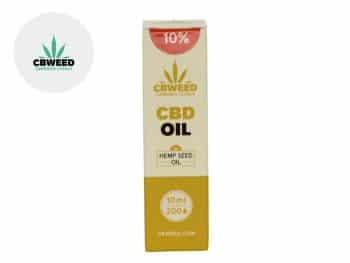 Huile CBD Huile CBD 10% (huile de chanvre) Cbweed