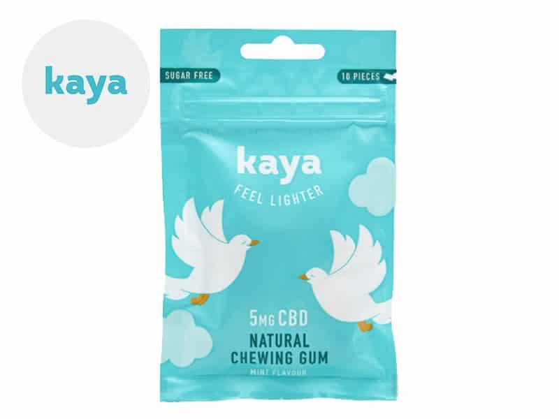 Chewing-gums CBD Chewing-gums CBD relaxant Kaya