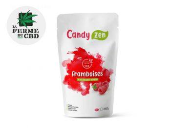 Bonbons CBD Bonbons Framboise bio CBD La Ferme Du Cbd