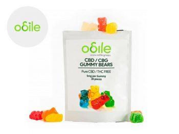Bonbons CBD Bonbons Gummy Bears CBD Odile Green