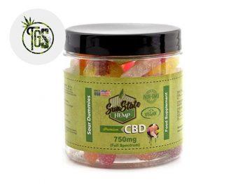 Bonbons CBD Bonbons Tétine Acidulées CBD Sunstate