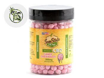 Chewing-gums CBD Chewing-gums Fraise CBD Sunstate