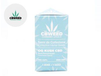 Graines CBD Graines Og Kush CBD autoflorissantes Cbweed