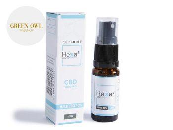 Huile CBD Huile MCT CBD 10% bio Hexacube
