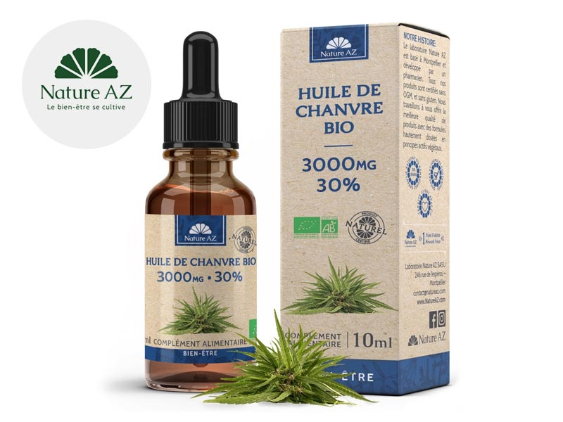 Huile CBD Huile CBD 30% bio NatureAZ