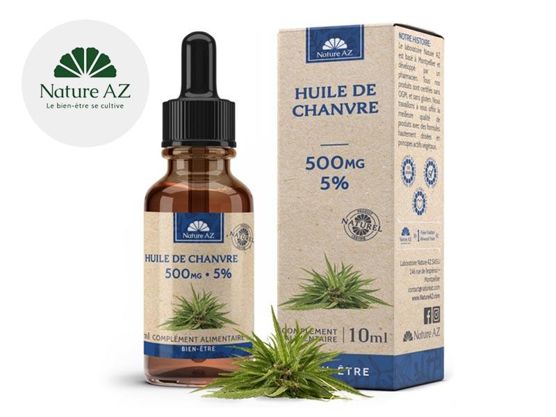 Huile CBD Huile CBD 5% bio NatureAZ