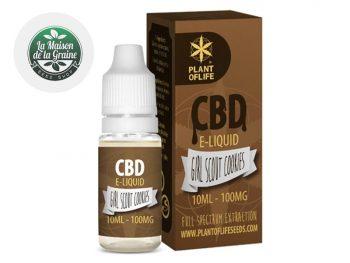 E-liquide CBD E-liquide Girl Scout Cookies CBD (100mg) Plantoflife