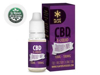 E-liquide CBD E-liquide Granddaddy Purple CBD (100mg) Plantoflife