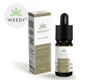 Huile CBD Huile CBD 5% bio Weedy
